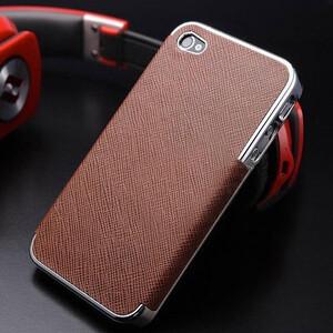 Купить Чехол-накладка OYO Chrome Brown для iPhone 5/5S/SE