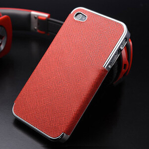 Купить Чехол-накладка OYO Chrome Red для iPhone 5/5S/SE