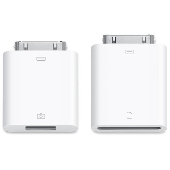 Купить Комплект адаптеров (переходников) Apple 30 Pin to USB   SD Connection Kit (MC531) для iPad