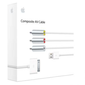 Купить Кабель Apple Composite AV для iPad/iPhone/iPod