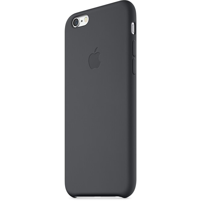 Чехол Apple Silicone Case Black (MGQF2) для iPhone 6/6s