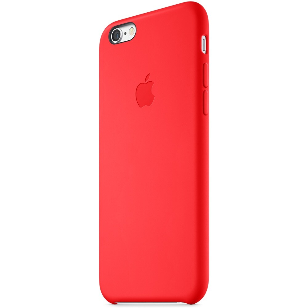 Чехол Apple Silicone Case (PRODUCT) RED (MGQH2) для iPhone 6/6s
