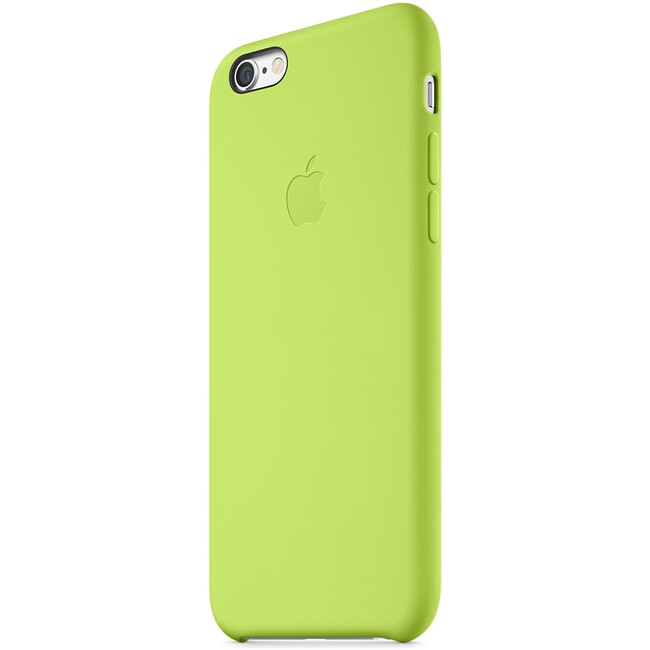 Чехол Apple Silicone Case Green (MGXU2) для iPhone 6/6s