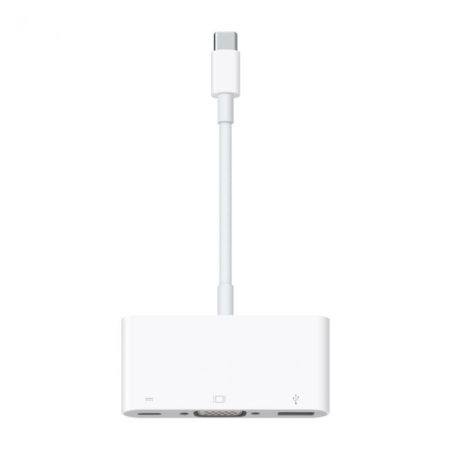 Адаптер Apple USB-C VGA Multiport Adapter (MJ1L2AM)