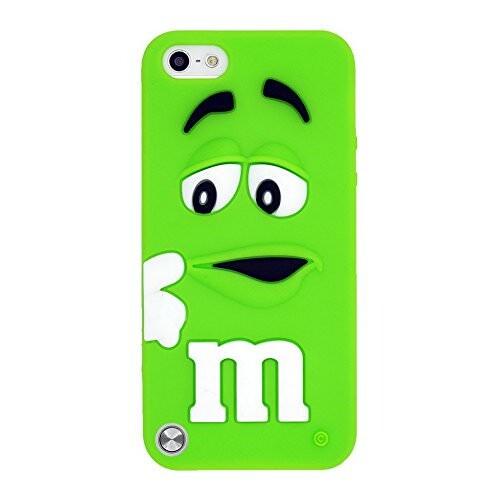 Силиконовый чехол M&M's Green для iPod Touch 5