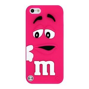 Купить Силиконовый чехол M&M's Hot Pink для iPod Touch 5