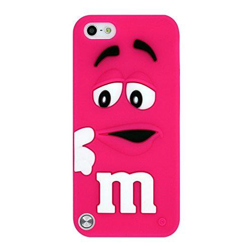 Силиконовый чехол M&M's Hot Pink для iPod Touch 5