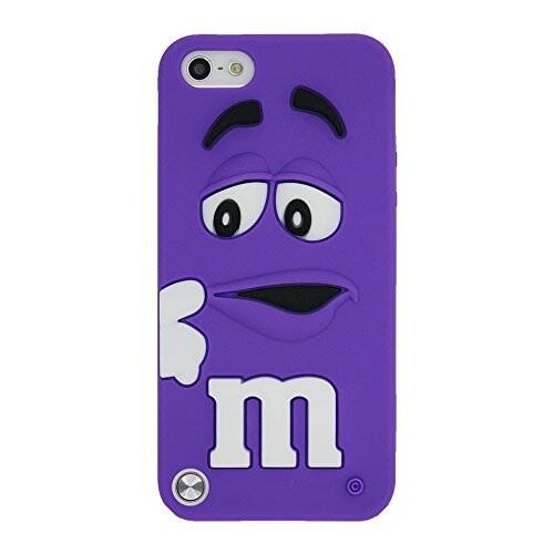 Силиконовый чехол M&M's Purple для iPod Touch 5