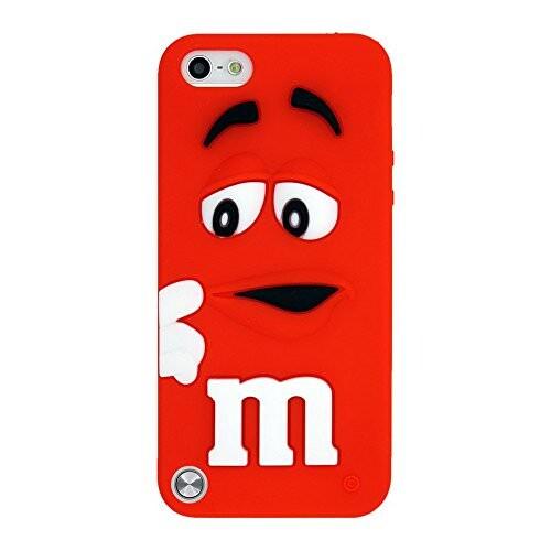 Силиконовый чехол M&M's Red для iPod Touch 5