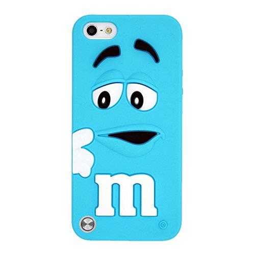 Силиконовый чехол M&M's Sky Blue для iPod Touch 5