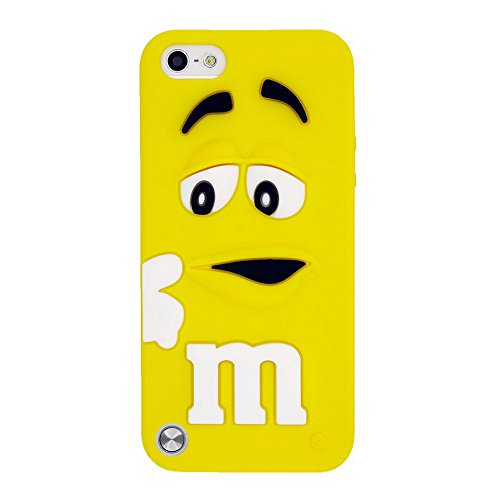 Силиконовый чехол M&M's Yellow для iPod Touch 5