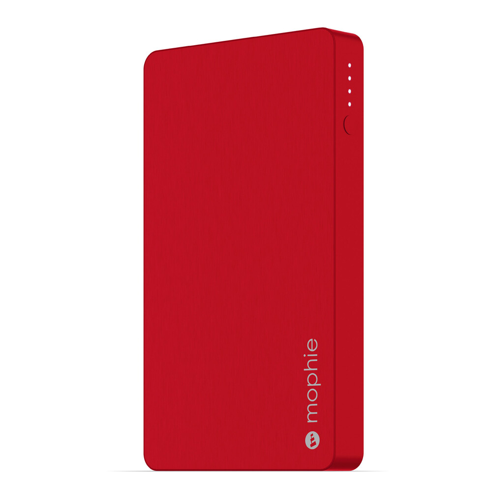 Купить Внешний аккумулятор с Lightning портом Mophie Universal Battery Powerstation Red 5000 mAh