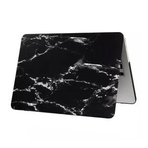 """Купить Мраморный чехол Marble Black/White для MacBook 12"""""""