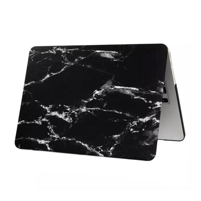 """Мраморный чехол Marble Black/White для MacBook 12"""""""