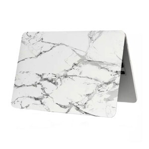 """Купить Мраморный чехол Marble White/Gray для MacBook 12"""""""
