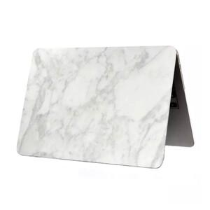"""Купить Мраморный чехол Marble White/White для MacBook 12"""""""