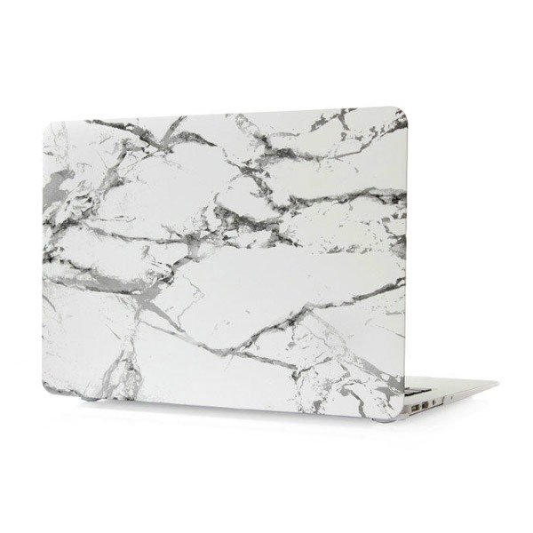 """Мраморный чехол Marble White/Gray для MacBook Air 11"""""""