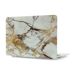"""Купить Мраморный чехол Marble White/Yellow для MacBook Air 11"""""""