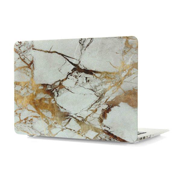 """Мраморный чехол Marble White/Yellow для MacBook Air 11"""""""
