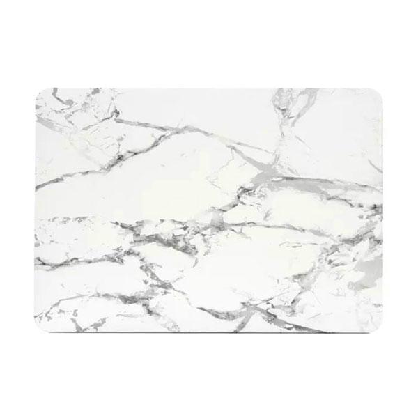 """Мраморный чехол Marble White/Gray для MacBook Air 13"""""""