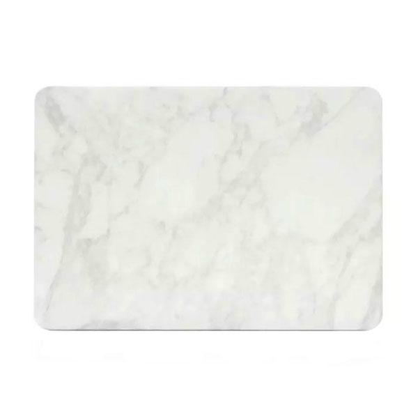 """Мраморный чехол Marble White/White для MacBook Air 13"""""""