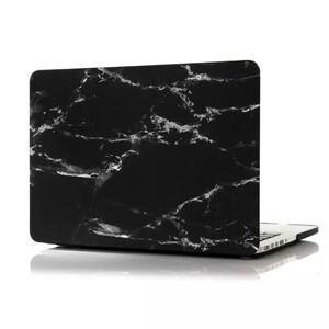 "Мраморный чехол Marble Black/White для MacBook Pro 13"" Retina"