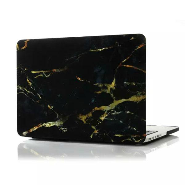 "Мраморный чехол iLoungeMax Marble Black   Yellow для MacBook Pro 13"" Retina"
