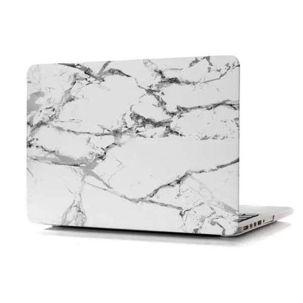 "Мраморный чехол Marble White/Gray для MacBook Pro 13"" Retina"