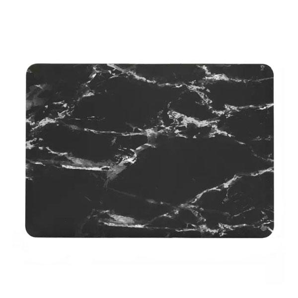 "Мраморный чехол iLoungeMax Marble Black   White для MacBook Pro 15"" Retina"