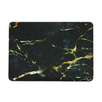 "Мраморный чехол Marble Black/Yellow для MacBook Pro 15"" Retina"