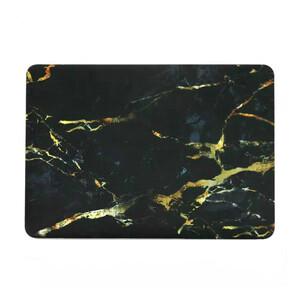 """Купить Мраморный чехол Marble Black/Yellow для MacBook Pro 15"""" Retina"""