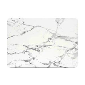 "Мраморный чехол Marble White/Gray для MacBook Pro 15"" Retina"