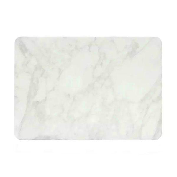 "Мраморный чехол iLoungeMax Marble White   White для MacBook Pro 15"" Retina"