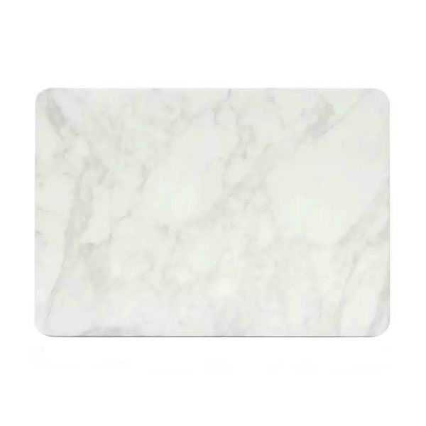 "Мраморный чехол Marble White/White для MacBook Pro 15"" Retina"