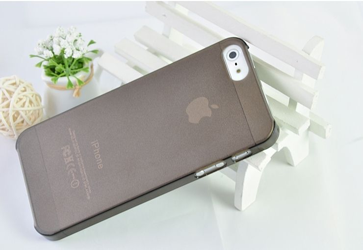 Тонкий чехол Matte 0.5mm для iPhone 5/5S/SE