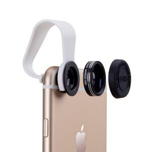 Универсальный объектив Momax 2-in-1 для iPhone/iPod/iPad/Mobile