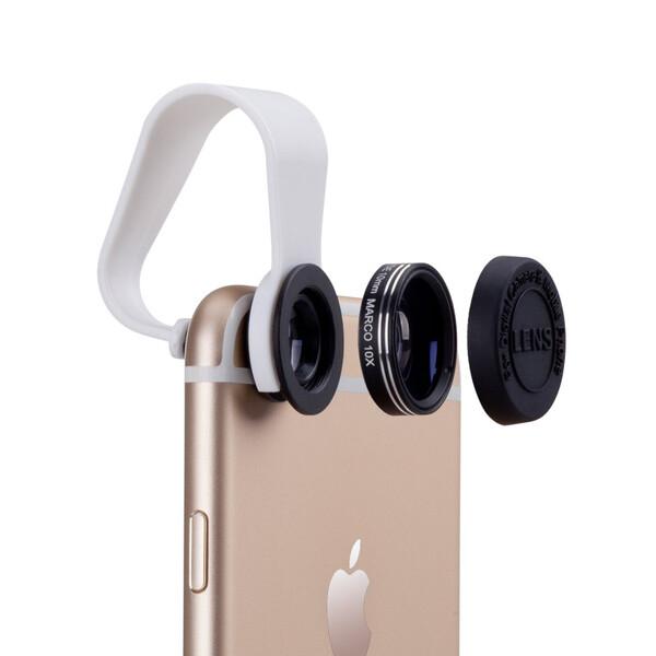 Универсальный объектив Momax 2-in-1 для iPhone | iPod | iPad | Mobile