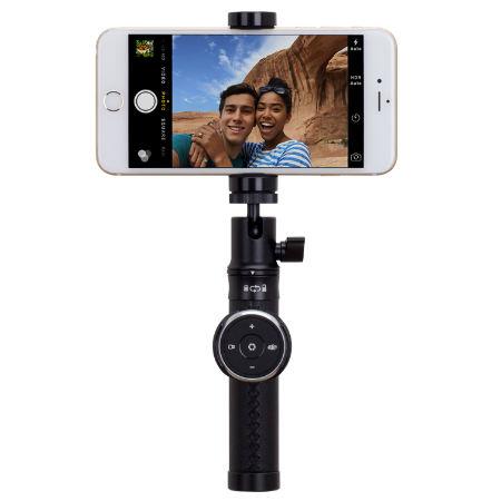 Монопод Momax Selfie Pro 50cm Black + трипод