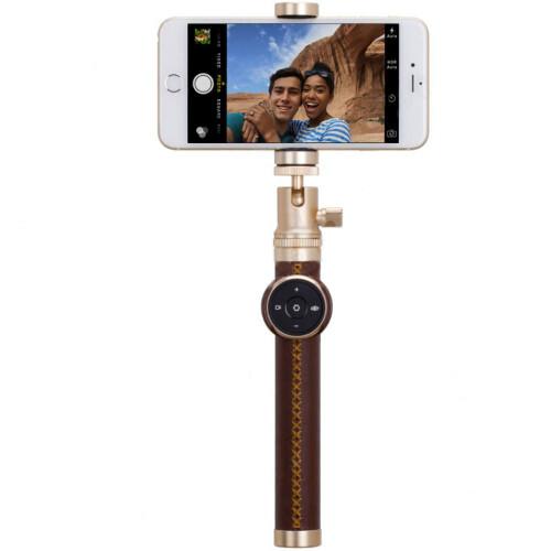 Монопод Momax Selfie Pro 90cm Gold + трипод