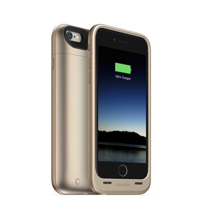 Чехол Mophie Juice Pack Air Gold для iPhone 6/6s