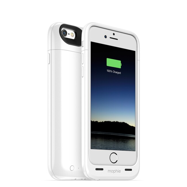 Чехол Mophie Juice Pack Air Gloss White для iPhone 6/6s