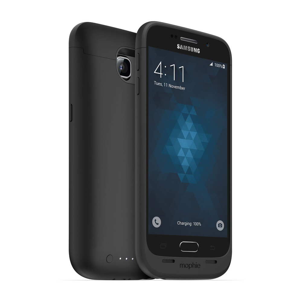 Чехол-аккумулятор Mophie Juice Pack Black для Samsung Galaxy S6