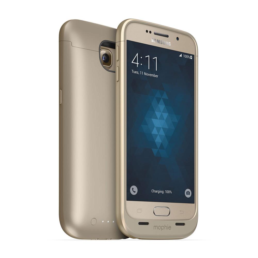Чехол-аккумулятор Mophie Juice Pack Gold для Samsung Galaxy S6