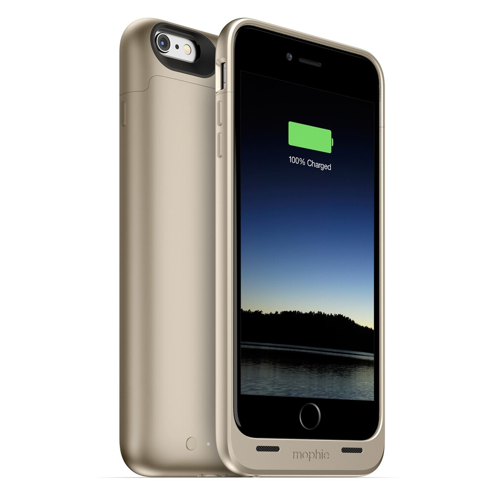 Купить Чехол Mophie Juice Pack Gold для iPhone 6 Plus | 6s Plus