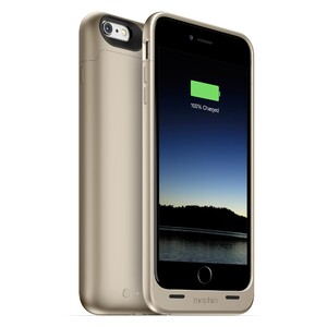 Купить Чехол Mophie Juice Pack Gold для iPhone 6/6s Plus