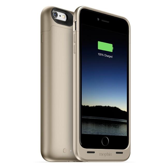 Чехол Mophie Juice Pack Gold для iPhone 6/6s Plus