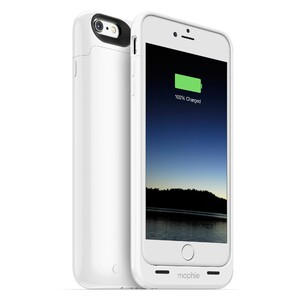 Купить Чехол Mophie Juice Pack Gloss White для iPhone 6/6s Plus