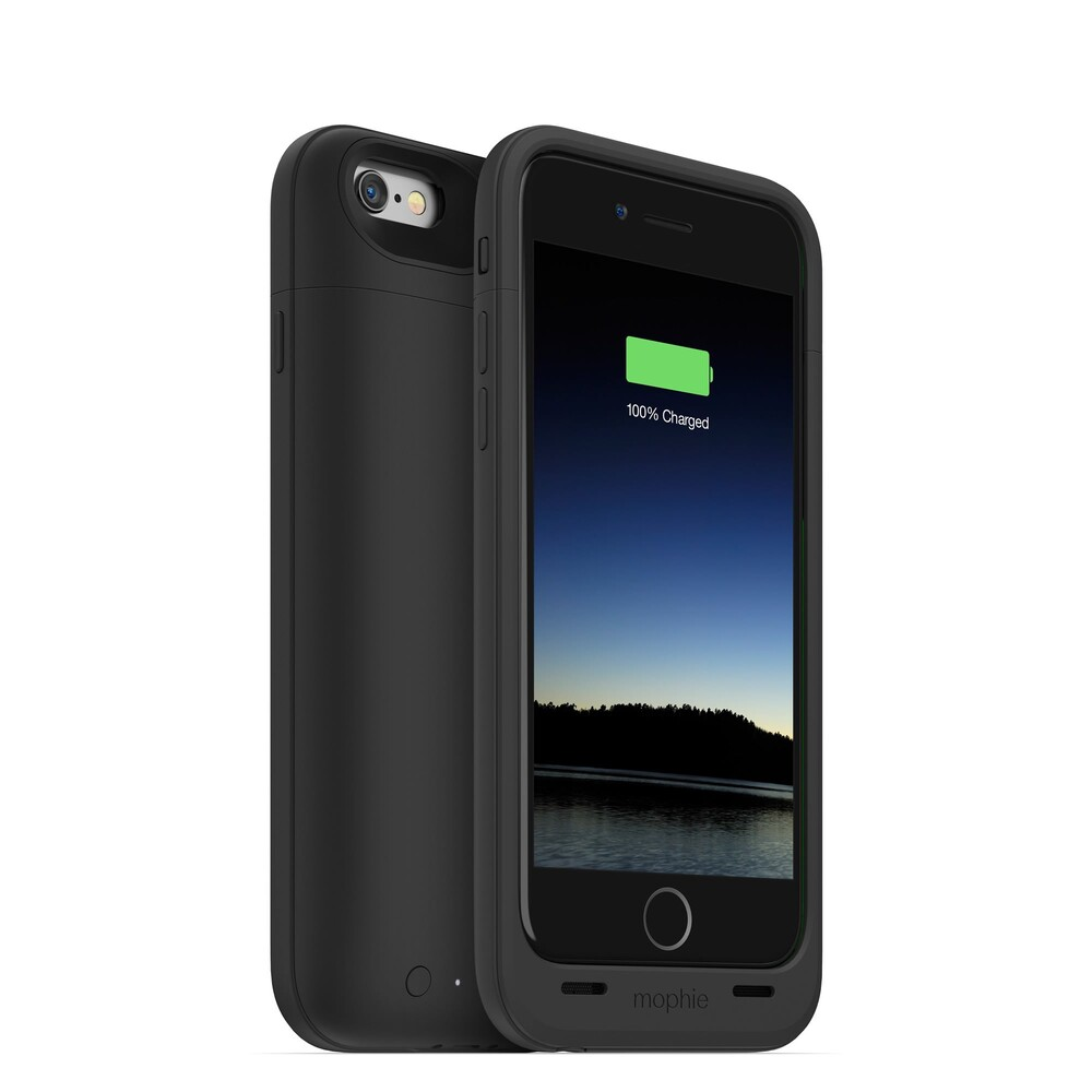 Чехол Mophie Juice Pack Plus Black для iPhone 6/6s