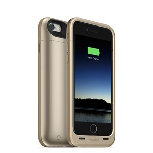 Купить Чехол Mophie Juice Pack Plus Gold для iPhone 6/6s