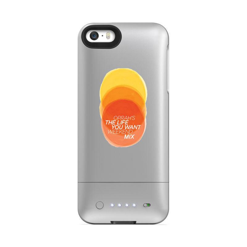 Чехол с аккумулятором Mophie Juice Pack Helium Oprah's Edition для iPhone 5/5S/SE